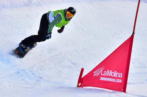 Perfecte golven in een Surfpoel is voor Paralympische snowboardster Renske ideaal